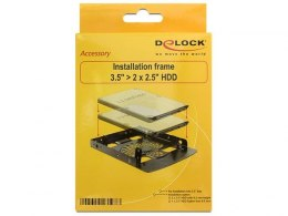 "ADAPTER HDD SANKI-SZYNA 3.5""->2X2.5"" DELOCK"