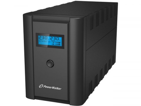 PowerWalker UPS POWERWALKER LINE-INTERACTIVE 2200VA 2X 230V PL + 2X IEC OUT, RJ11/RJ45 IN/OUT, USB, LCD