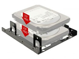 "ADAPTER HDD / SSD SANKI 3.5""->2X2.5"" HDD/SSD DELOCK"
