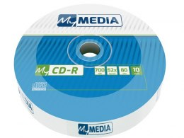 CDR MY MEDIA 700MB WRAP (SPINDLE 10)