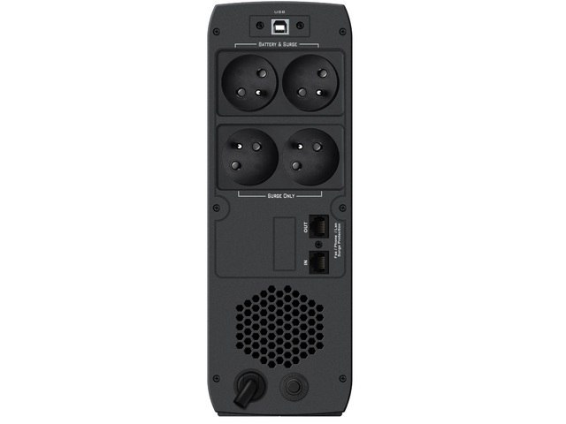 UPS POWERWALKER LINE-INTERACTIVE CSW 800 VA 4X FR OUT, RJ11/RJ45 IN/OUT, USB, 2X USB ŁADOWARKA