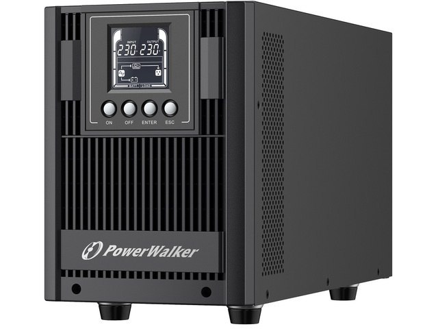 UPS POWERWALKER ON-LINE 2000VA AT 4X FR OUT, USB/RS-232, LCD, TOWER, EPO