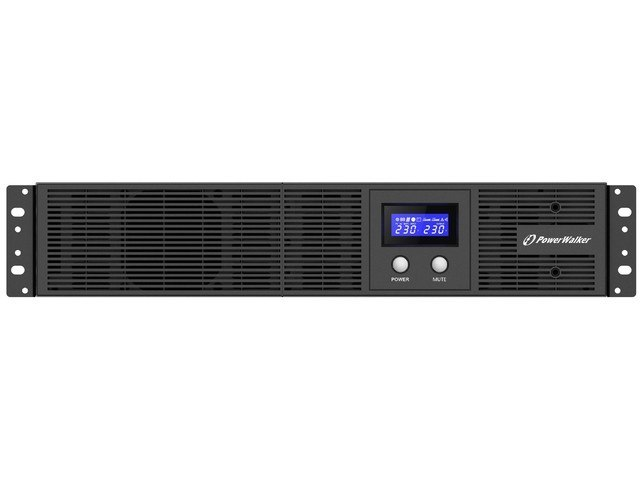 "UPS RACK 19"" POWERWALKER LINE-INTERACTIVE 2200VA, 4X IEC OUT, RJ11/RJ45 IN/OUT, USB, LCD, EPO"