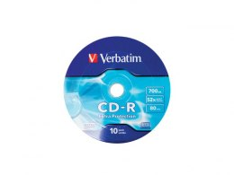 CDR VERBATIM 700MB EXTRA PROTECTION WRAP (SPINDLE 10)