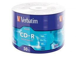 CDR VERBATIM 700MB EXTRA PROTECTION WRAP (SPINDLE 50)