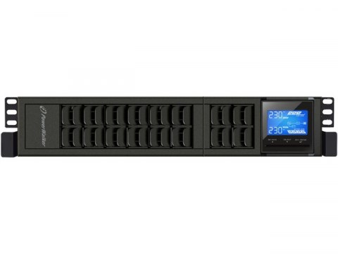 "PowerWalker UPS RACK 19"" POWERWALKER ON-LINE 3000VA 4X IEC + TERMINAL OUT, USB/RS-232, LCD, TOWER"