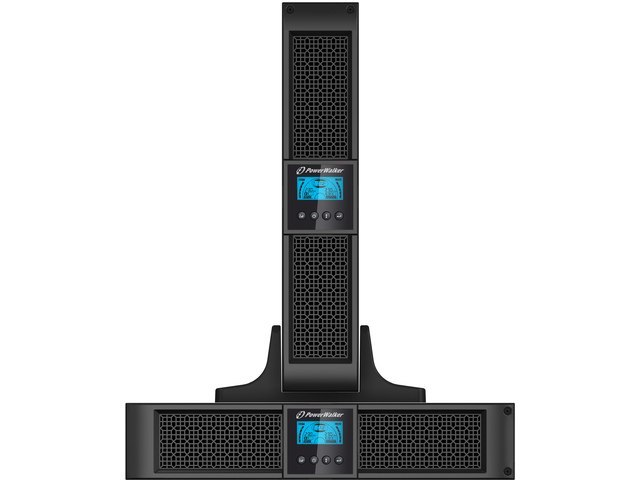 "UPS RACK 19"" POWERWALKER ON-LINE 3000VA 8X IEC + 1X IEC/C19 OUT, USB/RS-232, LCD, TOWER"